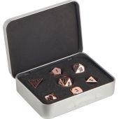 Набор кубиков Metal Dice Set - Copper