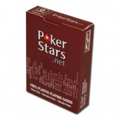 Карты для покера Poker Stars.net (красная рубашка)
