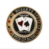 "Хранитель карт Card Guard ""Bullets Pair of Aces"""