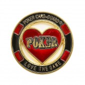 "Хранитель карт Card Guard ""Poker Love the Game"""