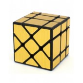 Кубик фишера MoYu MoFangJiaoShi Fisher Mirror gold