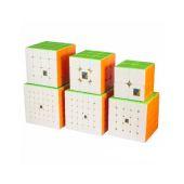 Набор кубиков MoYu Cubing Classroom 2+3+4+5+6+7 set