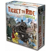 Ticket to Ride Европа (3-е рус. изд.) (Билет на поезд)