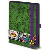 """Блокнот для записей """"Retro Hulk"""", A5"""