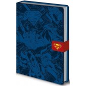"""Блокнот для записей """"Superman"""", A5"""