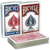 Карты Bicycle Standard Bridge 88х58 мм (Красная рубашка)