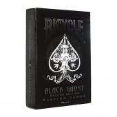 Карты Bicycle Ghost Black от Ellusionist.com