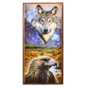 Нарды + шашки Российские средние (Волк и Орел)